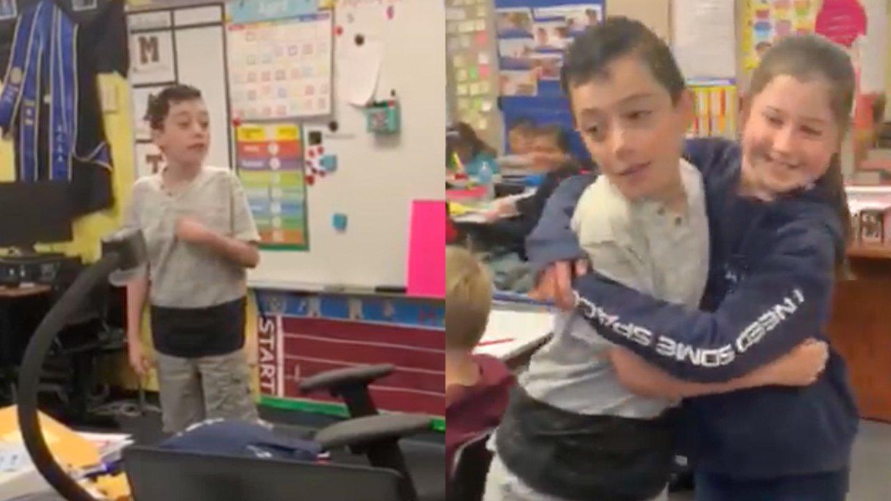 Student Reveals He Has Autism In Powerful Speech