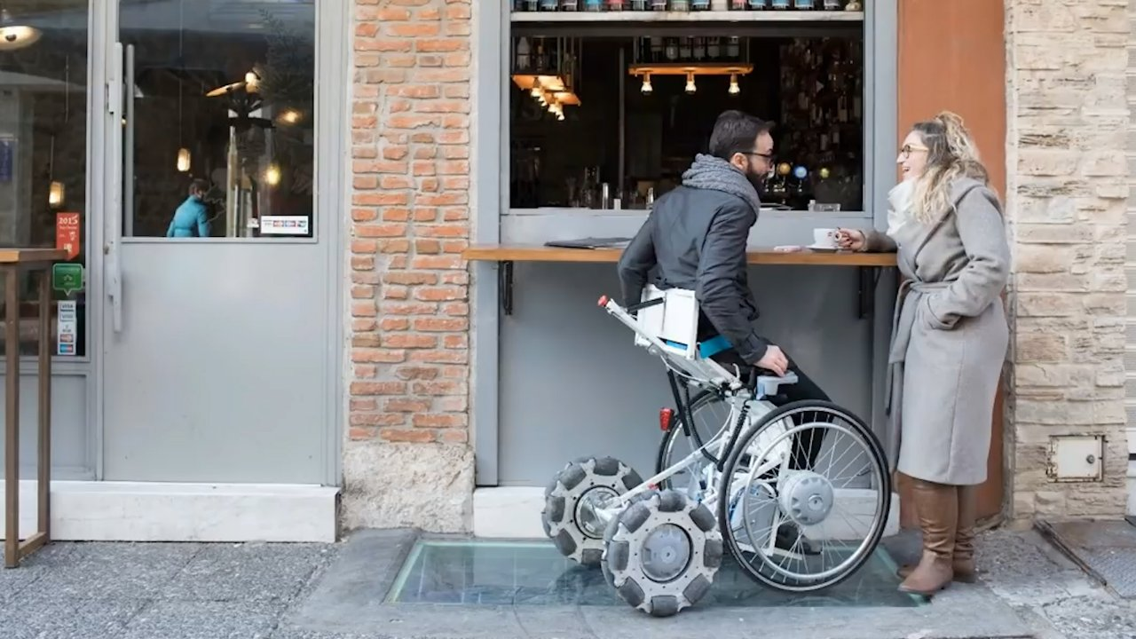 This Wheelchair Lets Users Stand