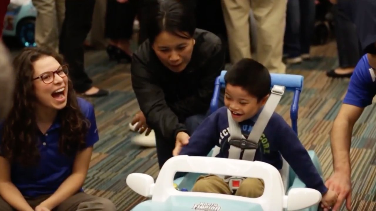 College Students Build Toys For Kids With Disabilities