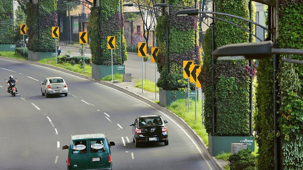 Mexico City's Vertical Gardens Are Making Waves
