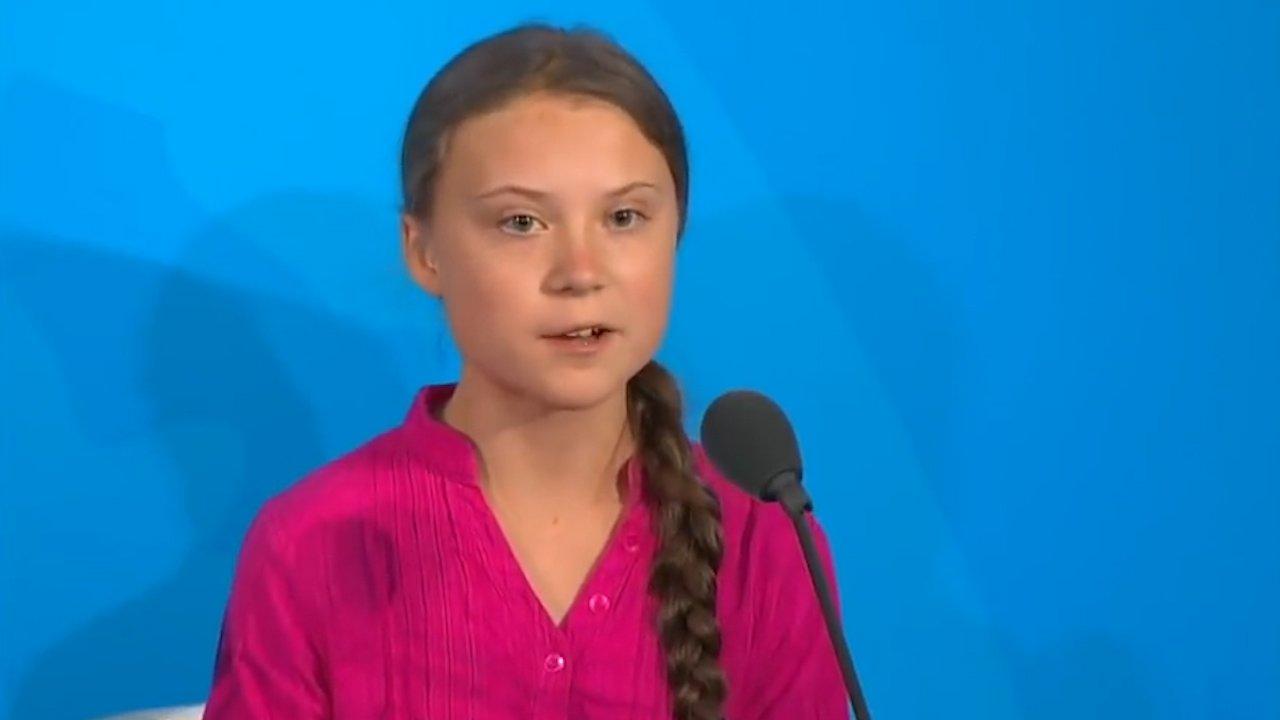 Greta Thunberg's Powerful Speech at UN
