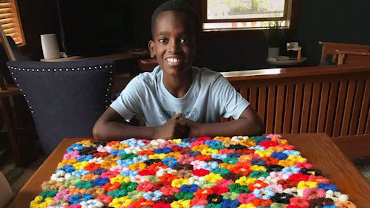 This 11-Year-Old Prodigy Is Crocheting for a Good Cause