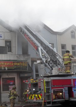 Fire West Side Ave-Jersey City NJ-May 18th 2015-Clip-6 | Mark Apollo