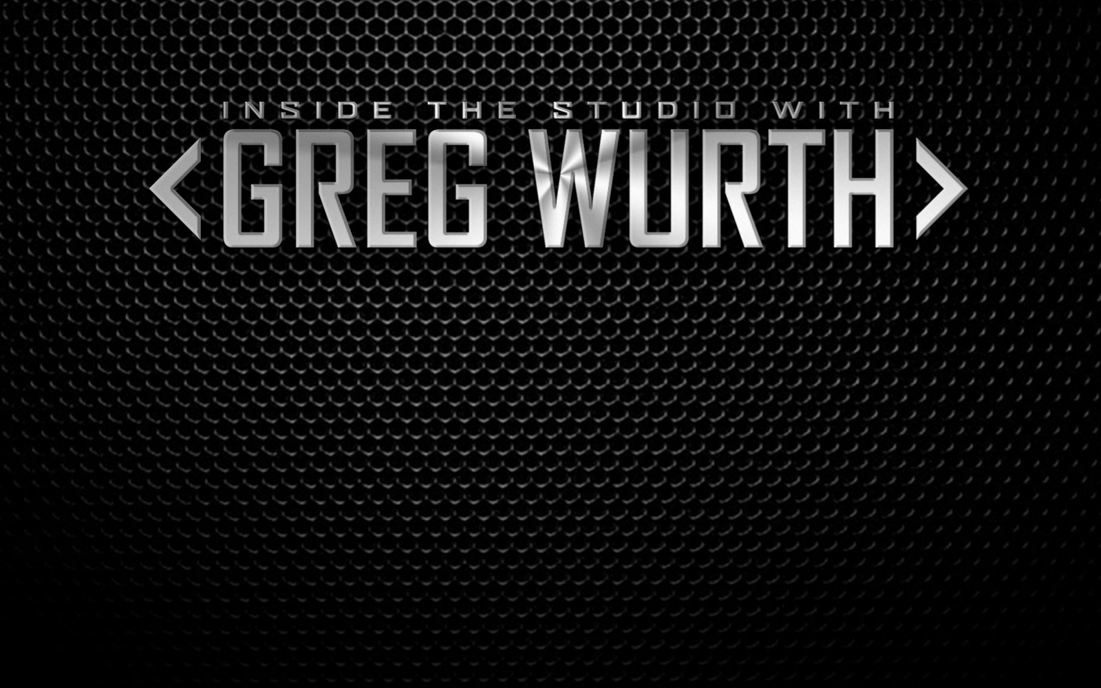 Greg Wurth | Production Expert