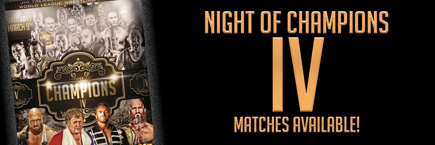 Night of Champions 4 matches available!
