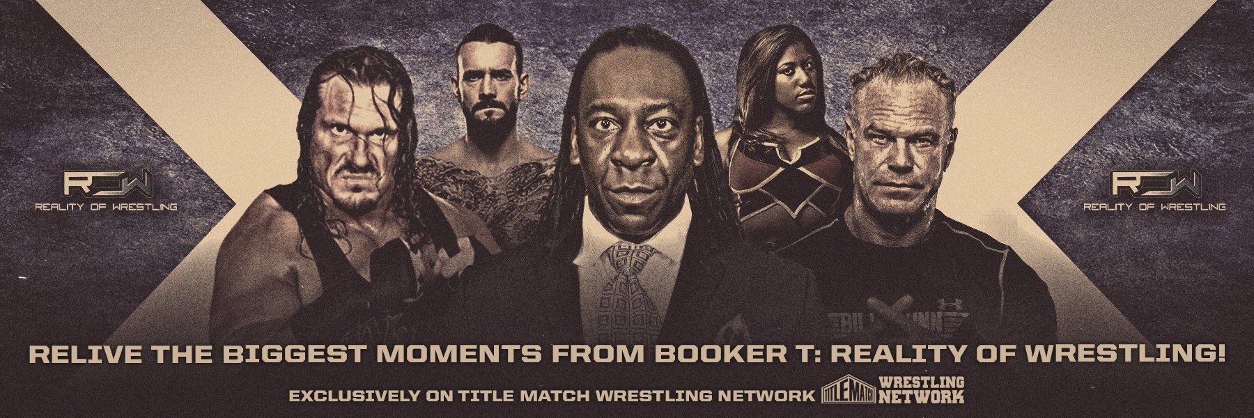 The official archives from Booker T: Reality of Wrestling!