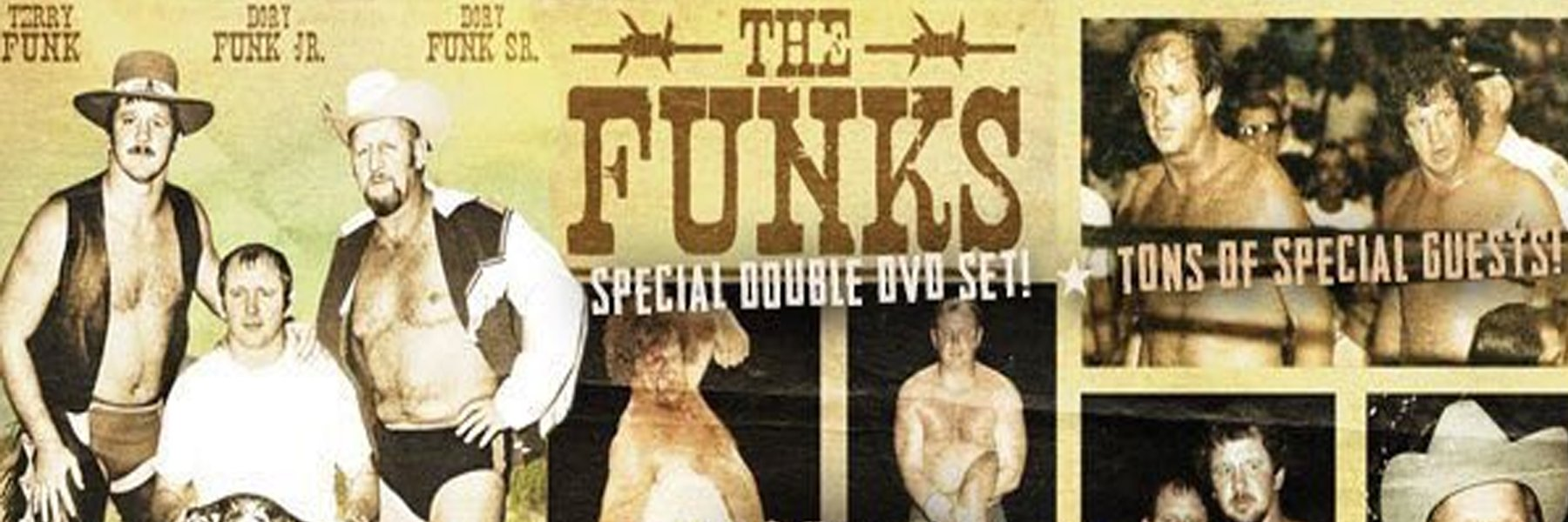 A+ Wrestling Documentary on the FUNKS! Special Interviews & Rare Footage