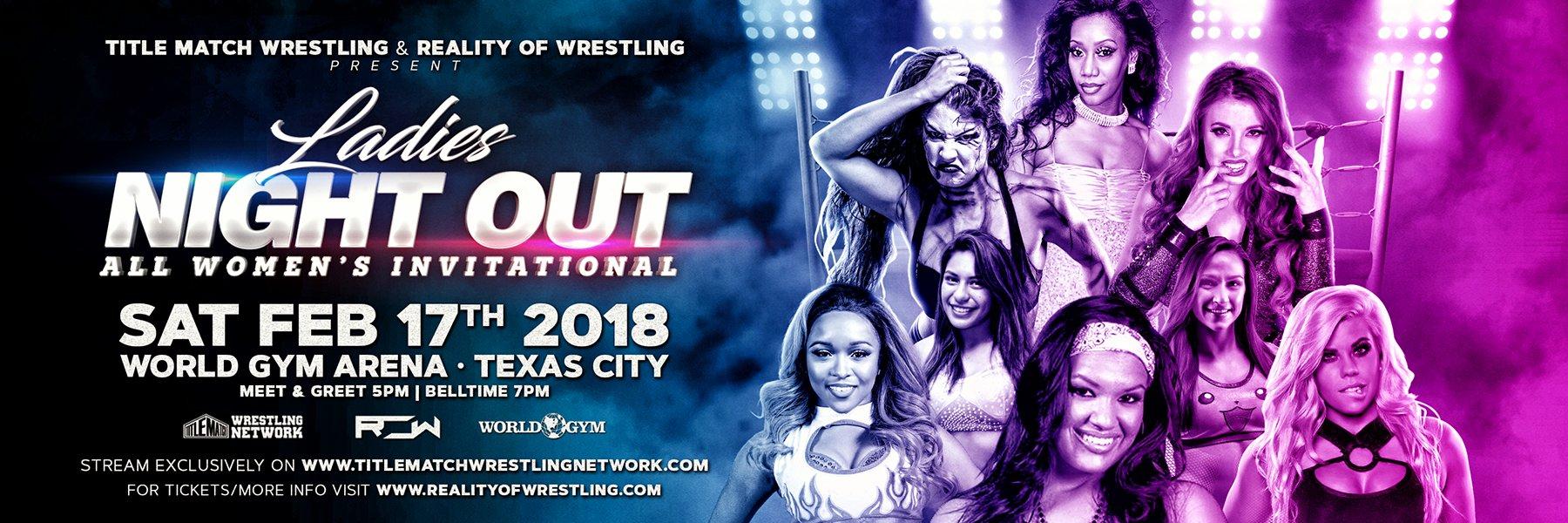 Ladies Night Out: All Women's Invitational LIVE (Su Yung vs Kiera Hogan)