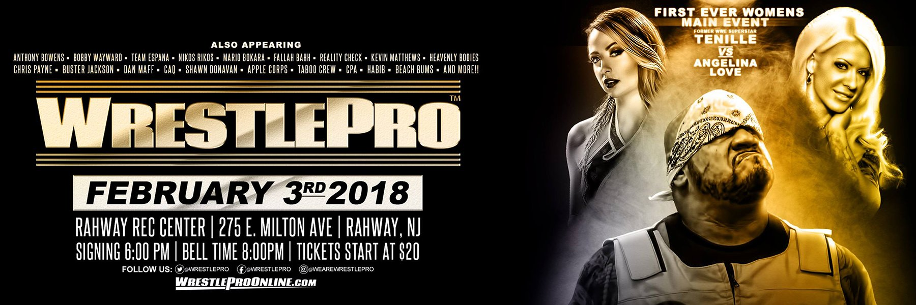 WrestlePro teams up w/ Impact Wrestling! See Tenille Dashwood (fka Emma)