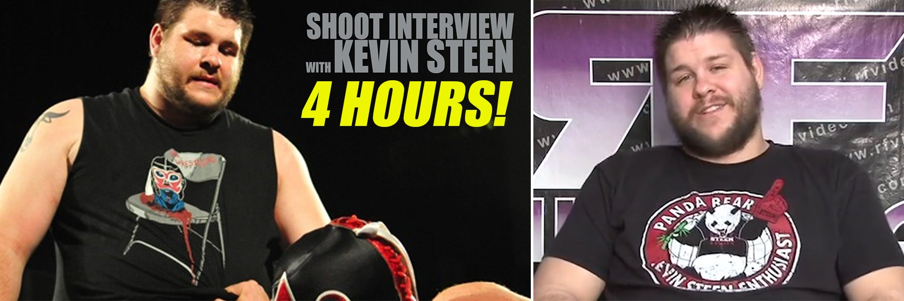 Watch the Complete Kevin Steen Shoot Interview - 4 Hours Long!