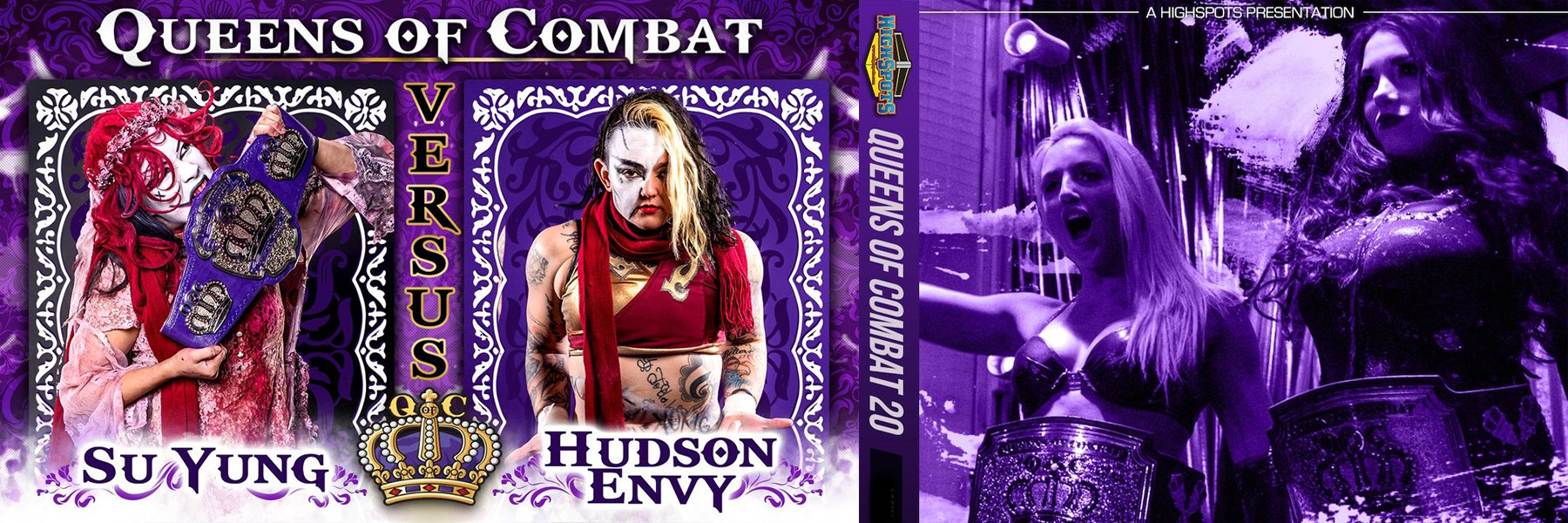 Steaming Now! Queens of Combat 20: Su Yung, Tessa Blanchard, Kiera Hogan