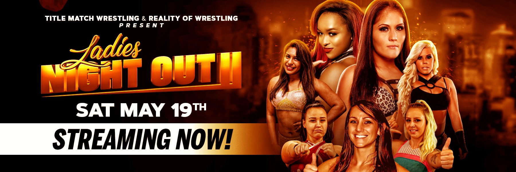 Streaming NOW: Ladies Night Out II feat: Ivelisse vs Kiera Hogan & more!