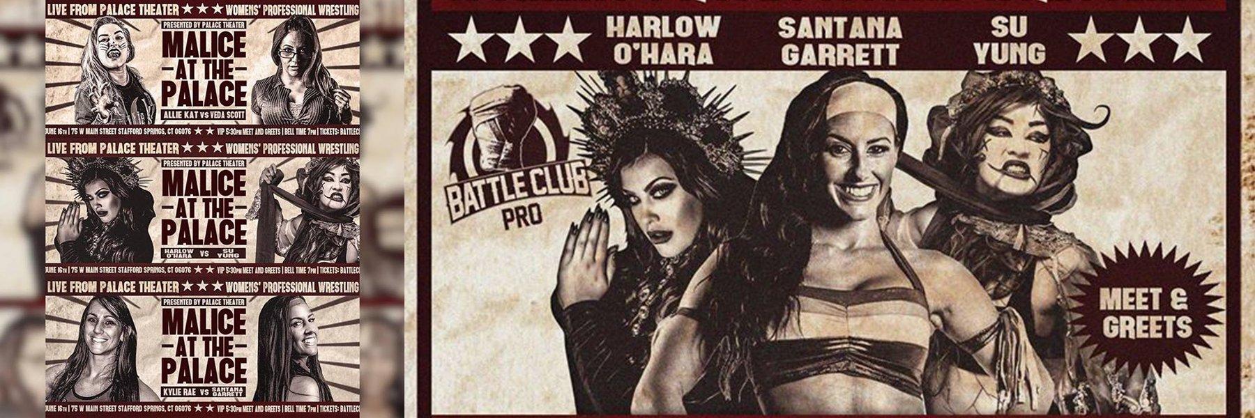 EXCLUSIVE: Battle Club Pro - Su Yung v O'Hara, Santana Garrett v Kylie Rae!