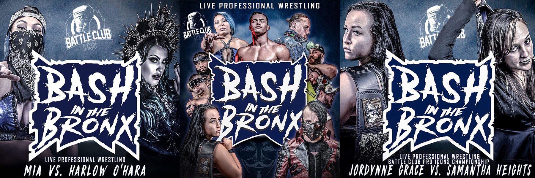 New Battle Club Pro w/ Mia Yim, Jordynne Grace, Jimmy Havoc, LAX, Harlow