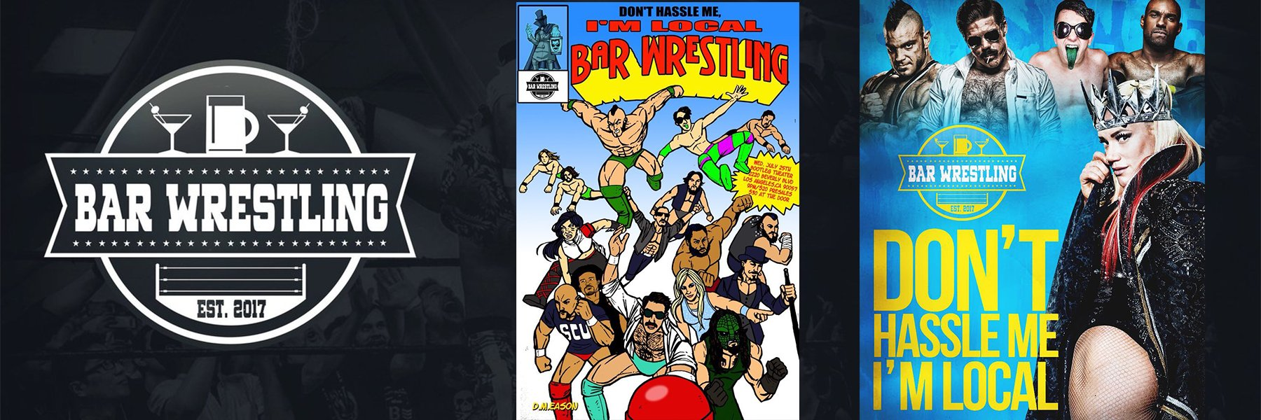 Bar Wrestling 15:  Joey Ryan, Taya Valkyrie, PJ Black, Willie Mack, Scorpio