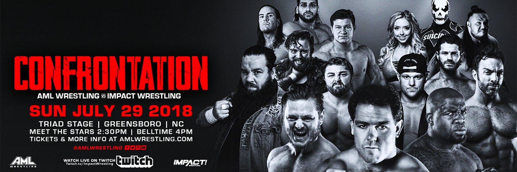 AML vs Impact iPPV: Matt Sydal, Moose, Tessa Blanchard, Eli Drake, Allie