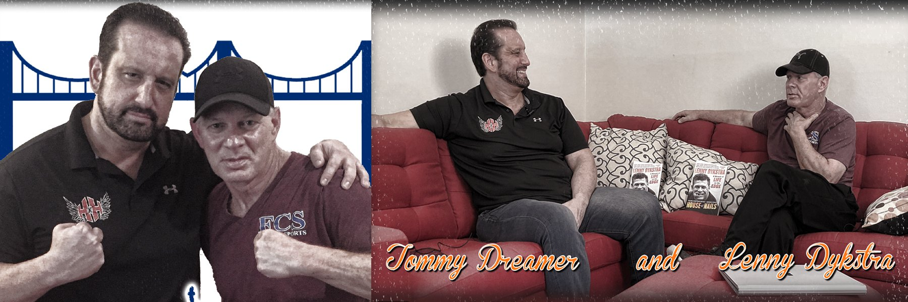 NEW: Tommy Dreamer Shoot Interview w/ Lenny Dykstra (Mets/Phillies)