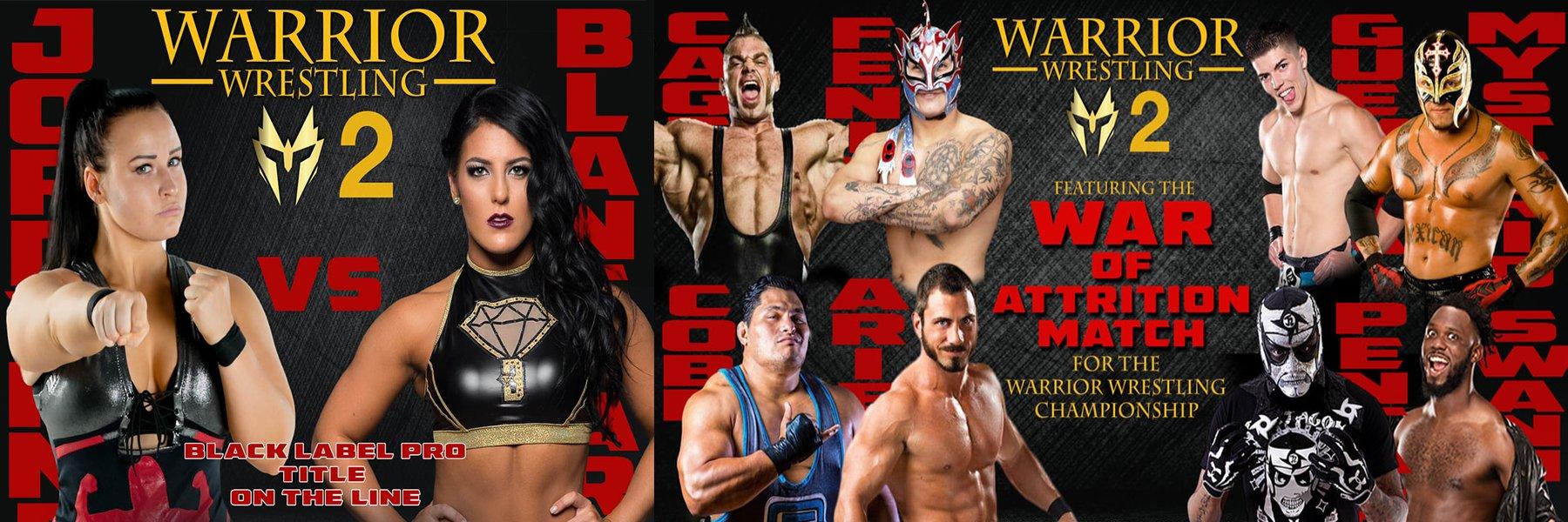 Warrior Wrestling 2: See Rey Mysterio, Pentagon, Brian Cage, Swann, Aries