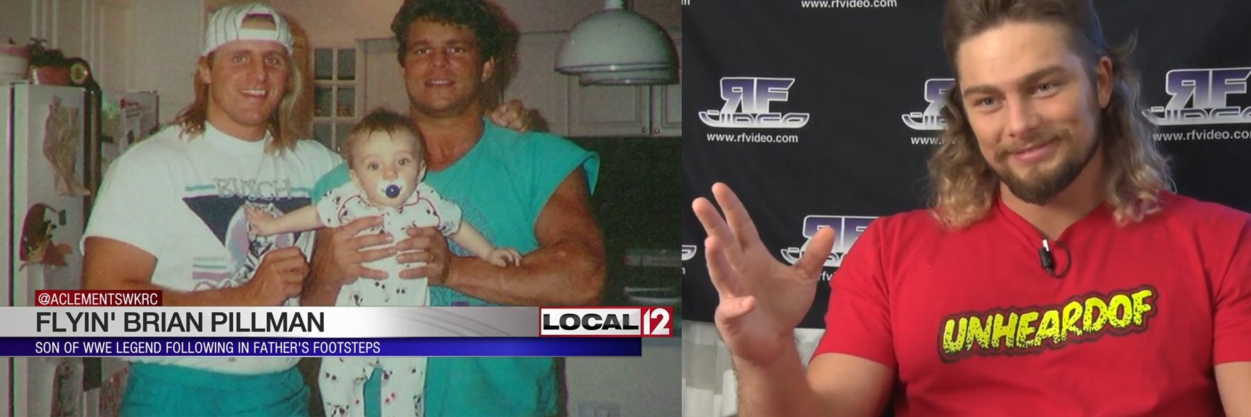 Stream the Brand New Brian Pillman Jr Shoot Interview Now
