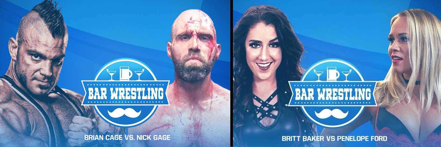New Bar Wrestling! Brian Cage vs Nick Gage, Britt Baker vs Penelope Ford