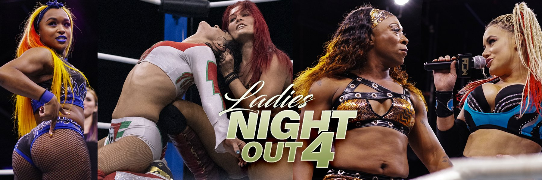 Ladies Night Out 4 - Taya Valkyrie vs Jazz, Ivelisse vs Thunder, Su Yung