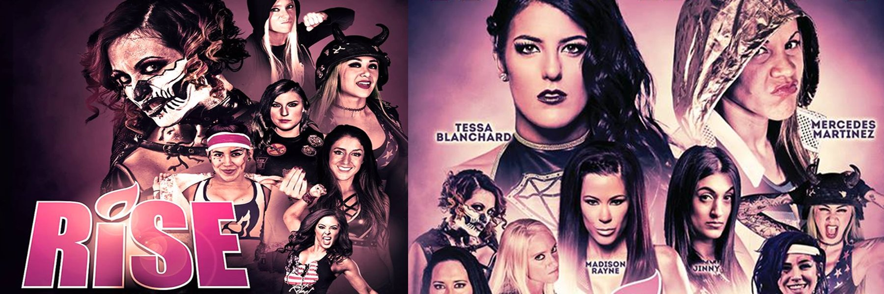 Watch the best RISE Women's Wrestling: Tessa Blanchard, Mercedes Martinez