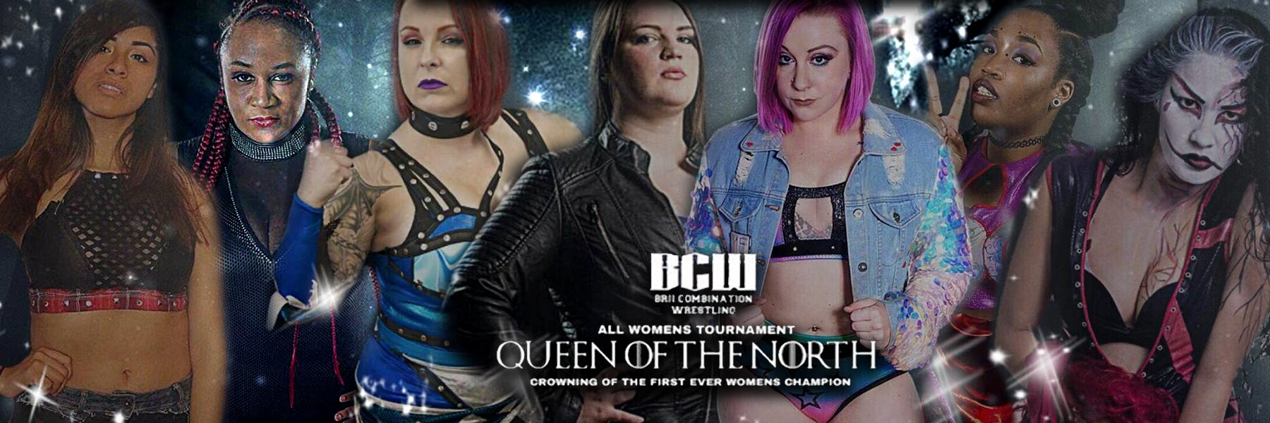 "BCW ""Queen of the North"" 2019 - Faye Jackson, LuFisto, Su Yung, Kimber Lee"