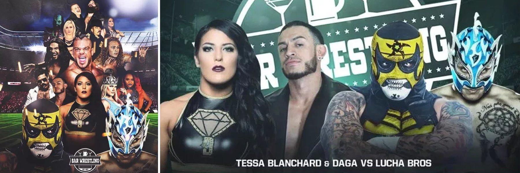 New Bar Wrestling! See Tessa Blanchard, Lucha Bros, Joey Ryan, Brian Cage