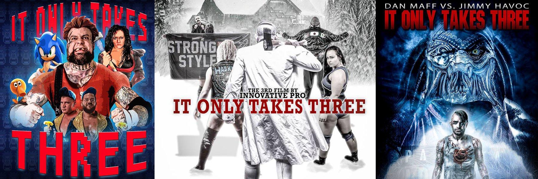 Brand New Innovative Pro Wrestling feat: Maria Manic, Diamante, Nick Gage