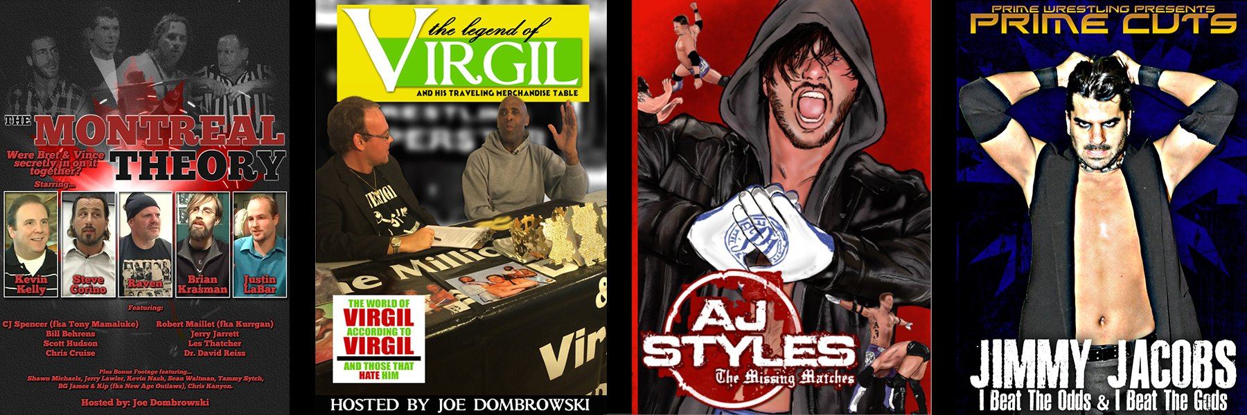 Stream AJ Styles: The Missing Matches & Legend of Virgil Documentary Now!