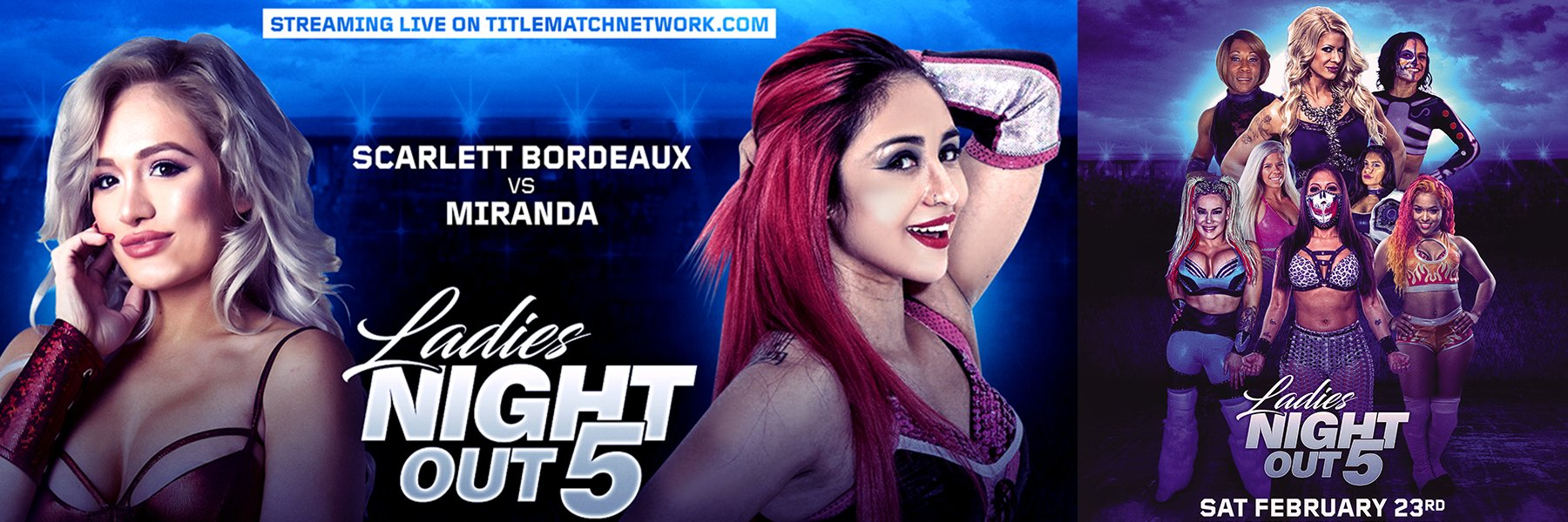 Ladies Night Out 5 Official Release: Ivelisse, Angelina Love, Taya Valkyrie
