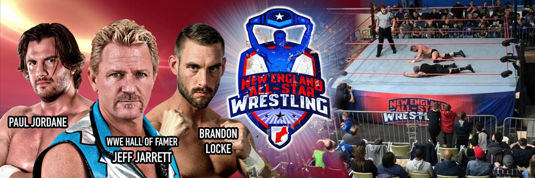 Stream New England All-Star Wrestling feat Jeff Jarrett, JT Dunn & more!