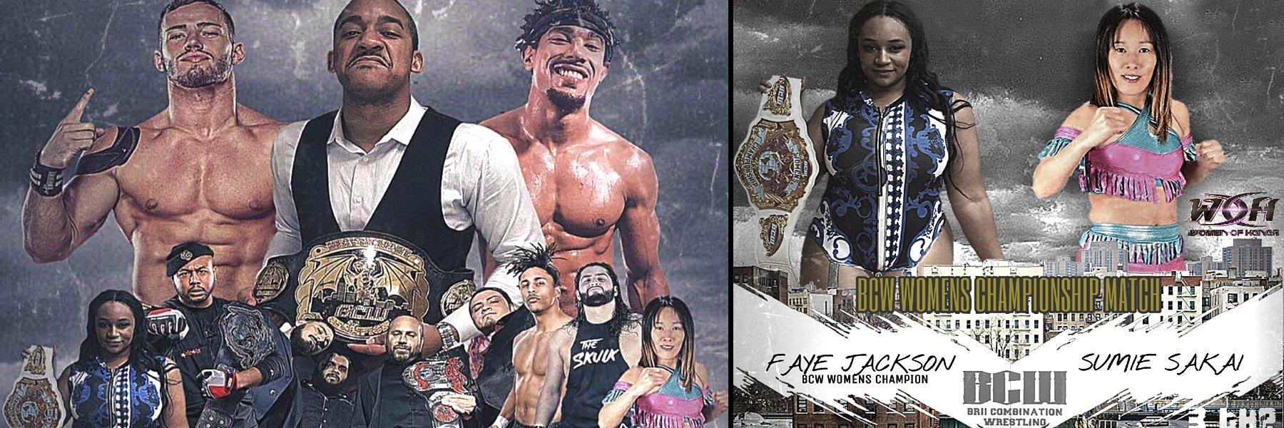 BCW 3rd Anniversary Show - Darius Carter, Faye Jackson, AR Fox, Sumie Sakai