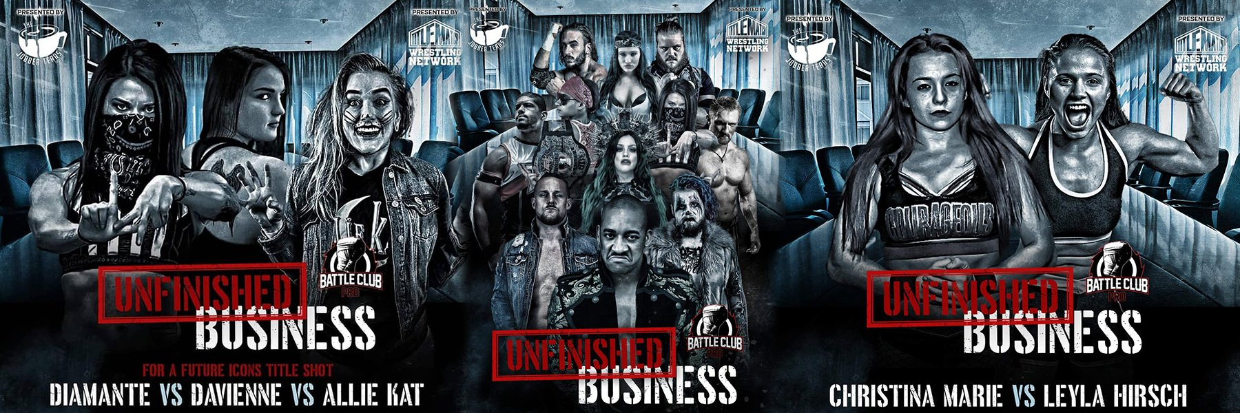 NEW Battle Club Pro! Feat Anthony Bowens, Tasha Steelz, Diamante, JT Dunn