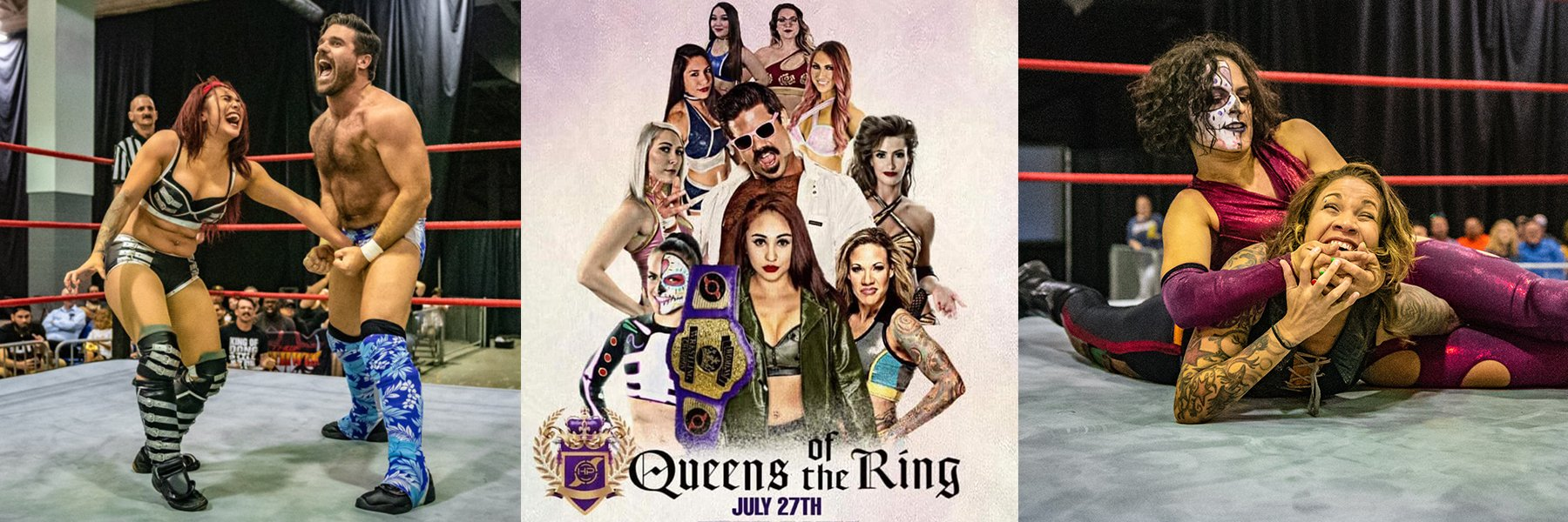 WATCH: Queens of the Ring iPPV - Miranda, Joey Ryan, Mercedes, Thunder Rosa