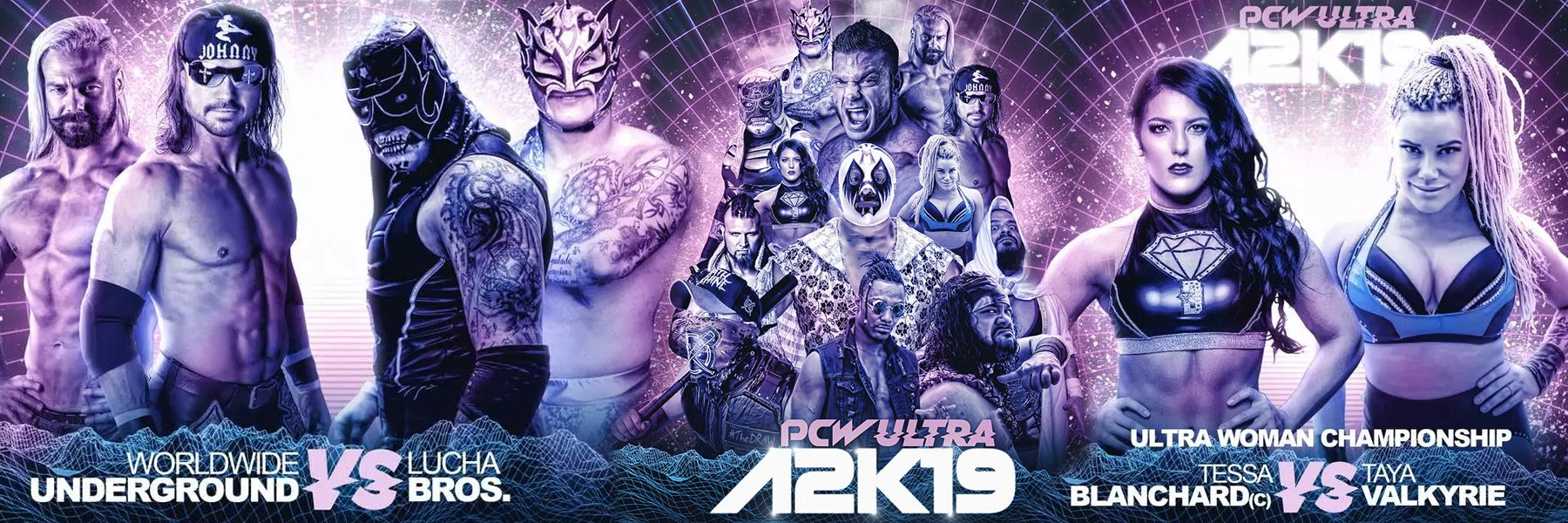 Watch PCW Ultra: A2K19 - Taya Valkyrie vs Tessa Blanchard, Lucha Bros