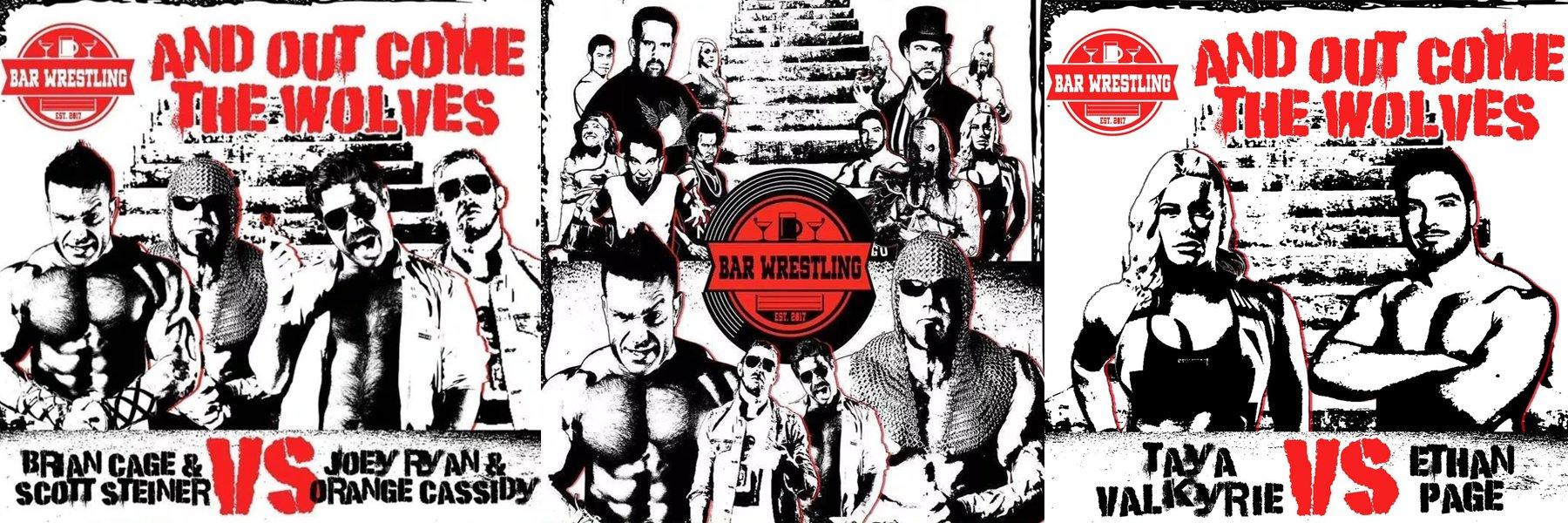 NEW Bar Wrestling! Scott Steiner, Orange Cassidy, Joey Ryan, Brian Cage