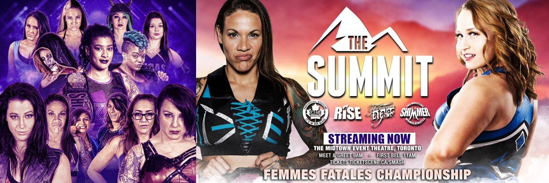 Watch RISE The Summit! Mercedes Martinez vs Jordynne Grace, Aerial Monroe