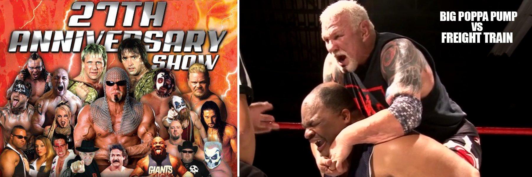 USA Pro Wrestling - 27th Anniversary Show (Scott Steiner vs Freight Train)