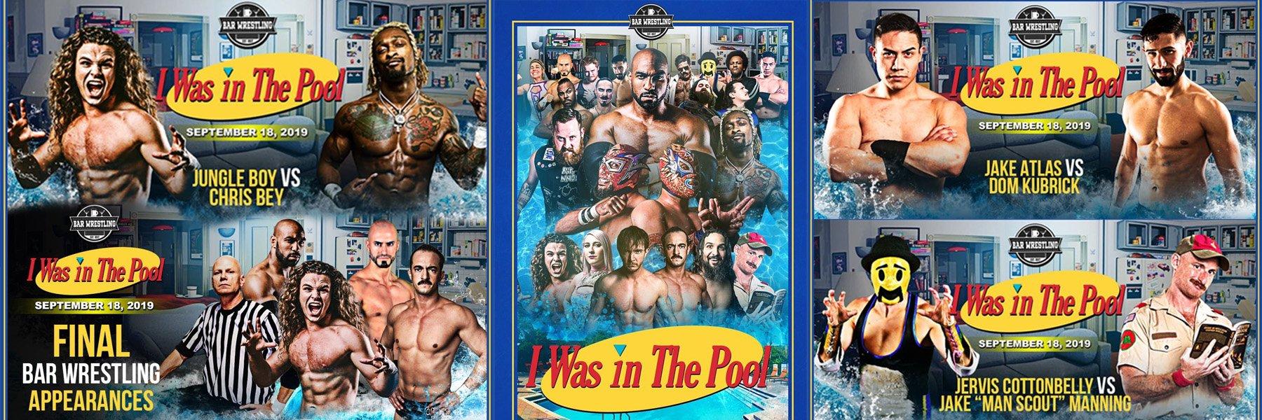 Bar Wrestling 44: I Was in the Pool (Jungle Boy vs Chris Bey, Jake Atlas)