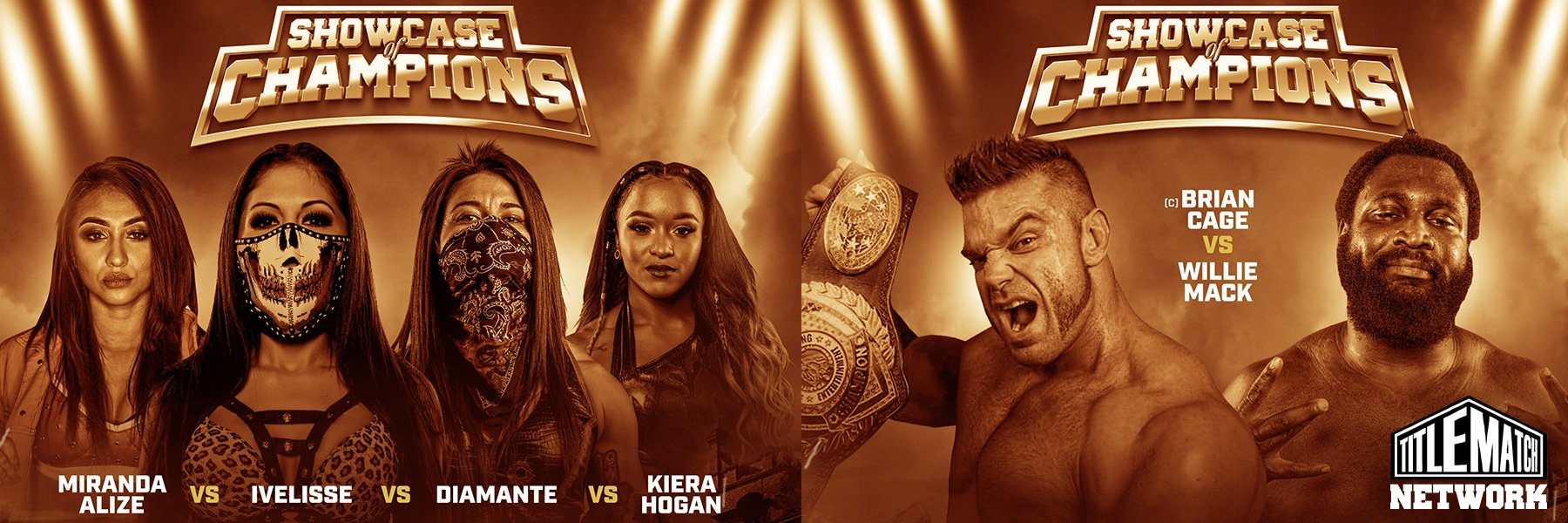 Showcase of Champions Live iPPV 11.29 (Brian Cage vs Willie Mack, Ivelisse)