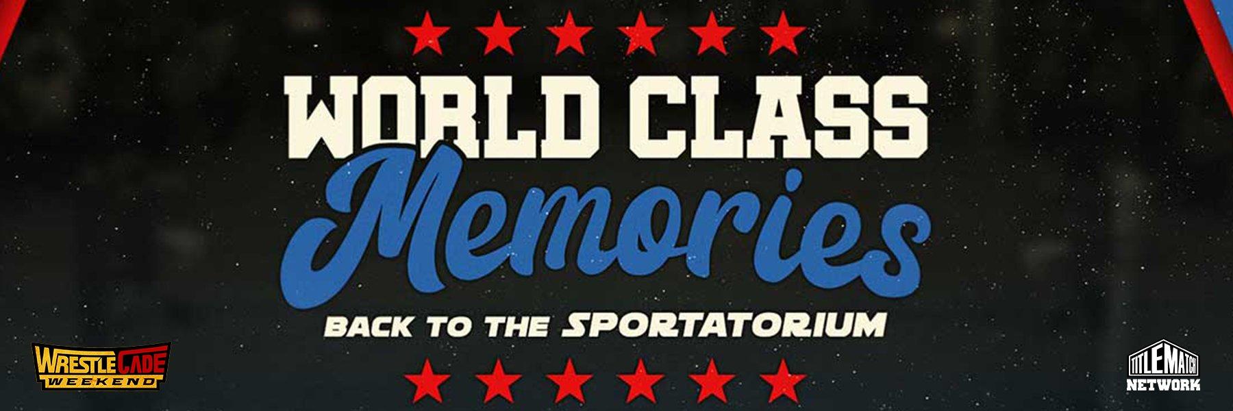 WCCW: World Classic Championship Wrestling - Back to the Sportatorium!