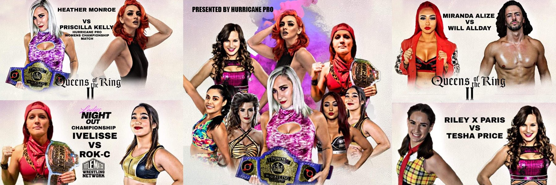 Queens of the Ring 2 - Coming 1/18/20 Heather Monroe vs Priscilla Kelly