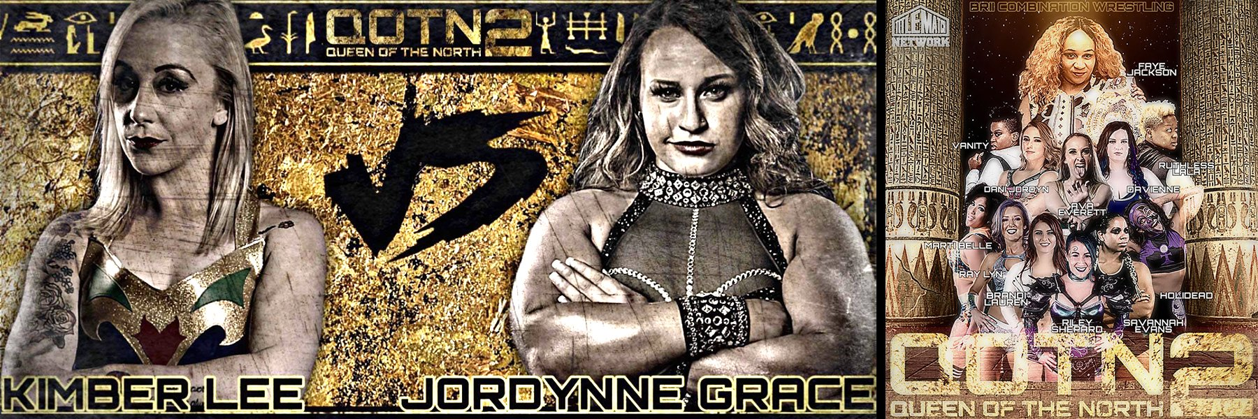 BCW Queen of the North 2: Faye Jackson, Jordynne Grace, Kimber Lee