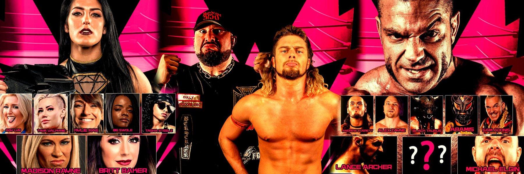 Warrior Wrestling 8: Tessa Blanchard, Big Swole, Taya Valkyrie, Kylie Rae