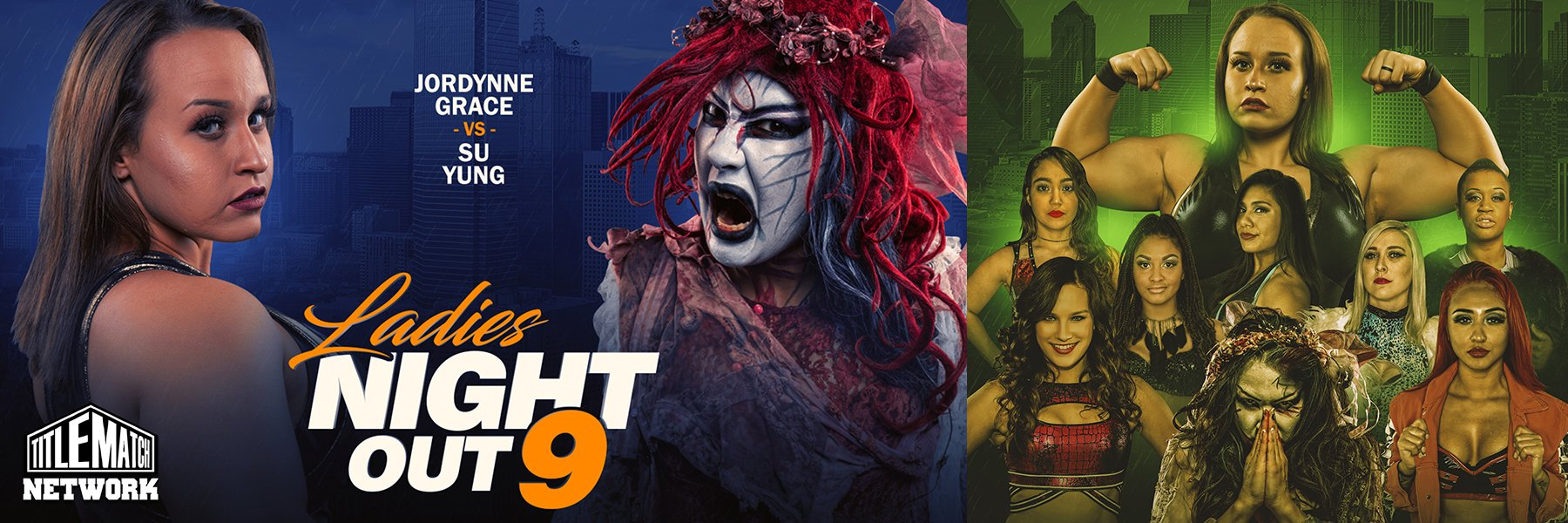 Ladies Night Out 9: Jordynne Grace vs Su Yung, Rok-C vs Heather Monroe