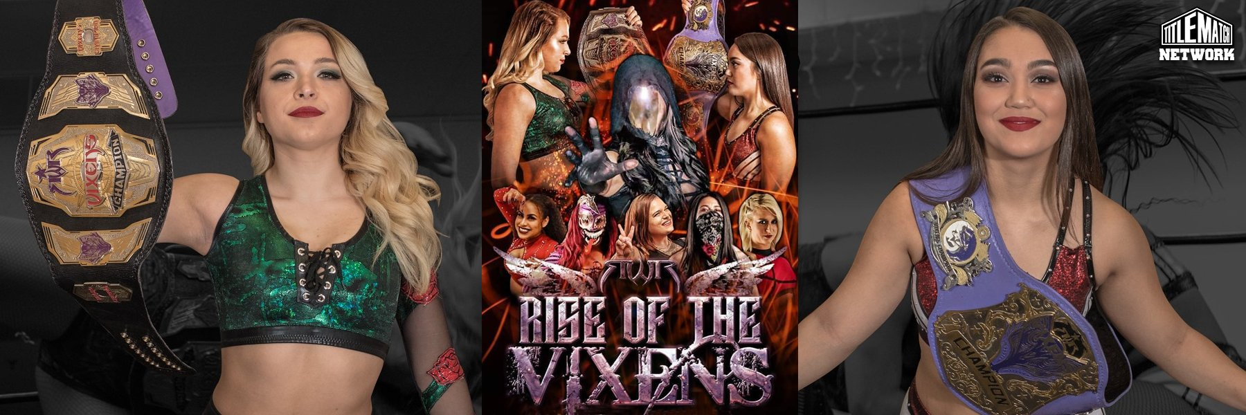 RWR: Rise of the Vixens 2.22.20 (Rok-C vs Raychell Rose vs Insidious One)