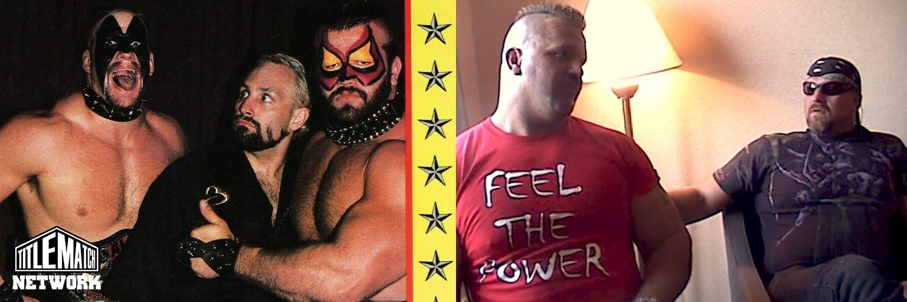 Watch the Road Warriors Shoot Interview! Hawk & Animal Talk WWF, NWA, AWA
