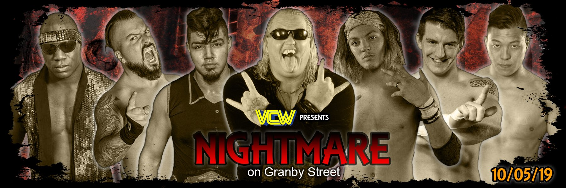 """VCW """"Nightmare on Granby Street"""" 2019"""
