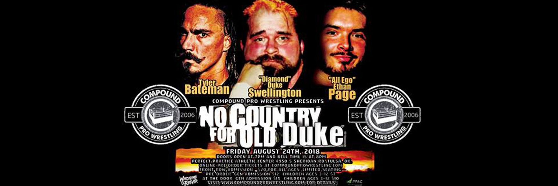 8/24/18:  No Country For Old Duke